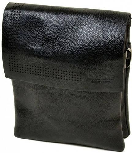 Практичная мужская сумка-планшет из искусственной кожи dr.Bond 88318-3 black