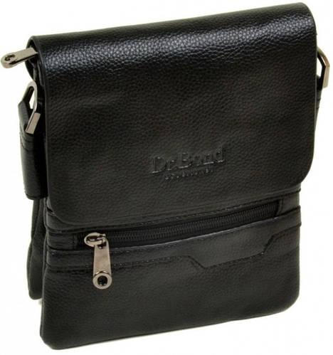 Практичная мужская сумка-планшет из искусственной кожи dr.Bond 88255-1 black