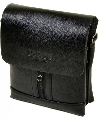Стильная мужская сумка-планшет из искусственной кожи dr.Bond 88282-1 black