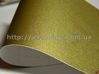 Структурная матовая пленка(супер мат) золото