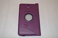 Поворотный 360° чехол-книжка для Samsung Galaxy Tab 4 7.0 T230 T231 T235 (фиолетовый цвет)
