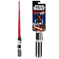 Звездные войны раздвижной световой меч Дарта Вейдера длиной 75 сантиметров. Оригинал Hasbro