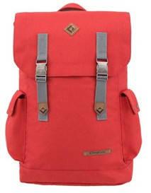 Яркий городской рюкзак 25 л. KingCamp полиэстер Redwood(KB3322) Dark red