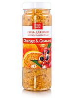 """Соль для ванны  Orange&Guarana  ТМ """"Fresh Juice"""" ,700г"""