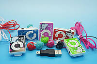Mp3 плеер Hello Kitty + наушники Hello Kitty + Usb переходник для зарядки.