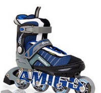 Ролики Amigo Sport Powerflex (34-37 размер) синие