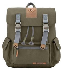 Комфортный городской рюкзак 15 л. KingCamp полиэстер Yellowstone(KB3323) Dark green