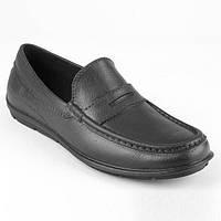 Мокасины мужские из ЭВА пены легкие, надежные, непромокаемые в любую погоду р.40-45 цвет черный в офис и школу