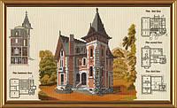 Новая Слобода СР4124 Загородный Дом, набор для вышивания нитками