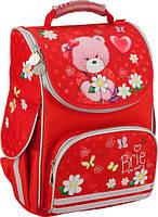Ранец школьный каркасный KITE 2016 Popcorn Bear 501