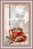Фея Вышивки АВ-113 Кофе, схема под бисер