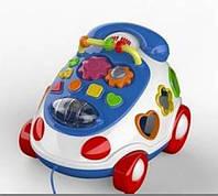 Іграшка дитяча Каталка-телефон з музикою (CANHUI)