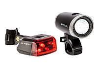Sigma Lightster+Cube Rider II+зарядное устройство осветительный комплект с StVZO-Zulassung