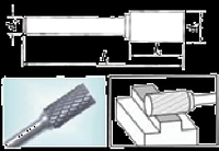 Проминструмент Борфреза цилиндрические A 2,0х10,0х6,0х55 BK8 Борфрезы твердосплавные