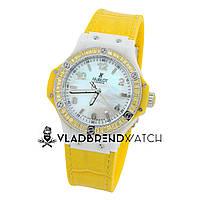Наручные женские часы Hublot    big bang diamonds