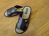 Женские кожаные тапочки Белста текстильные
