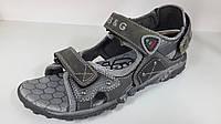 Босножки сандалии кожаные для мальчиков подростковые детские. ТМ B&G. размер 34 35 36 37