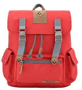 Потрясающий городской рюкзак 15 л. KingCamp полиэстер Yellowstone(KB3323) Dark red