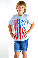 Летняя футболка на мальчика