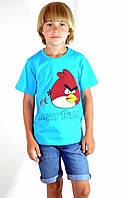 Стильная футболка  Angry Birds