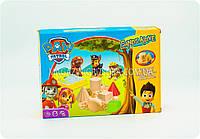 Кинетический песок для детей «Щенячий патруль» (салатовый) GG36A