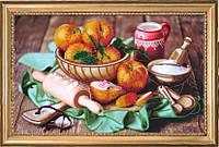 """Набор для вышивания бисером """"Персики на столе"""""""