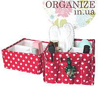 Набор органайзеров для косметики ORGANIZE  2 шт (пин ап)