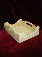 Кухонный поднос, разнос (24 х 18 х 6 см)