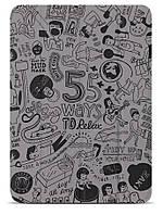 "Графический чехол для планшета 9.7"" OZAKI O! coat-Relax 360° iPad Air (Grey) OC113GR"