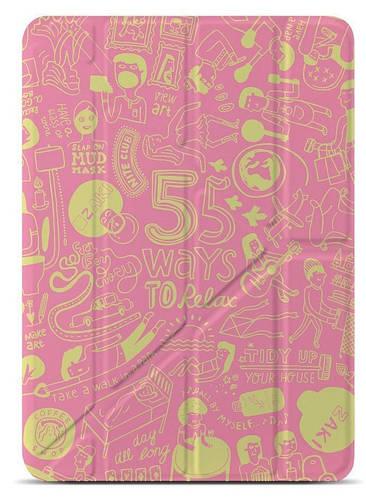 """Женский модный чехол для планшета 9.7"""" OZAKI O! coat-Relax 360° iPad Air (Pink) OC113PK"""