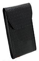 Сумка чехол для мобильного телефона универсал кожаный с клапаном на магните
