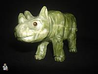 Носорог из оникса (12.5х9 см.)