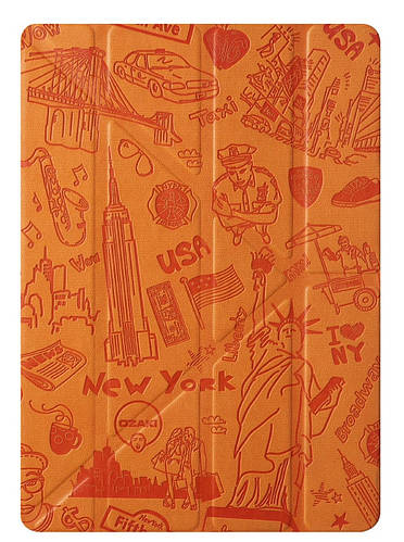 "Чехол ""Нью-Йорк"" для планшета диагональю 9.7"" OZAKI O! coat-Travel iPad Air (New York) OC111NY"