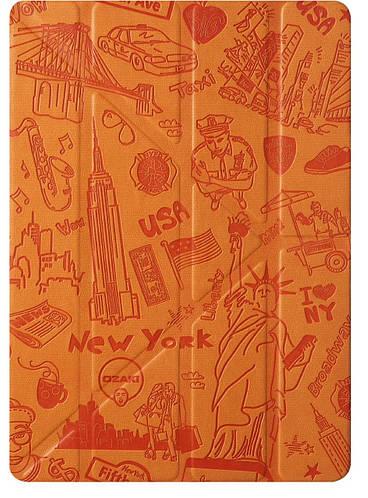 "Ультрамодный чехол ""Нью-Йорк"" для планшета 9.7"" OZAKI O!coat-Travel iPad Air/Air 2 (New York) OC111NY*"