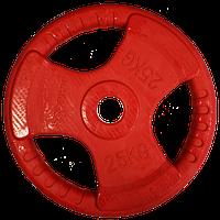 Диск для олимпийской штанги Sportop 25 кг