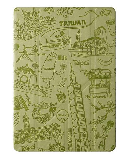 """Интересный чехол """"Тайбэй"""" для планшета 9.7"""" OZAKI O!coat-Travel iPad Air/Air 2 (Taipei) OC111TP*"""