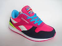Стильные модные детские / подростковые кроссовки для девочки, р. 31-36
