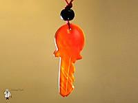 Амулет из сердолика «Ключ»