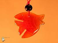 Амулет из сердолика «Рыба»