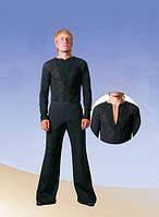 Комбидрес мужской для бальных танцев с гипюром