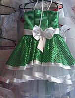 Детские праздничные платья Жозель ,цвета разные, возраст 5-7 лет опт и розница S412