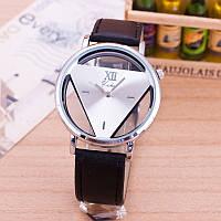 НОВИНКА! Стильные женские часы. Черные с белым (Код 031)