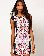 Ликвидация стока. Ультрамодное платье Klimeda яркой расцветки KM70123
