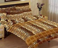 Постельное белье 145х210/70*70  ARYA Classi Mabella леопардовый
