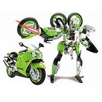 Робот-трансформер - Kawasaki Ninja ZX-12R 1:10 Roadbot