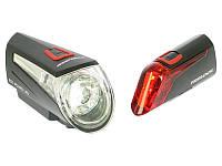 Trelock LS 450 + 320 LS LED осветительный комплект с StVZO-Zulassung
