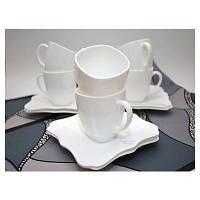 Чайный набор (220 мл /12 пр) Luminarc Authentic White D8766