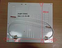 Испаритель для холодильника (плачущий испаритель 2-х канальный) 2-х патрубковый0,5 метра  400*450мм