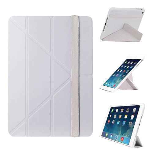 "Прочный чехол для планшета 9.7"" OZAKI O!coat Slim-Y iPad Air (Light gray) OC110LG"