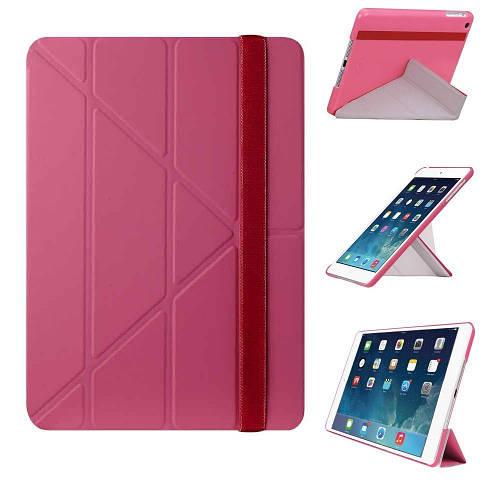 """Женский яркий чехол для планшета 9.7"""" OZAKI O!coat Slim-Y iPad Air (Pink) OC110PK"""